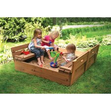 Cedar 4' Rectangular Sandbox