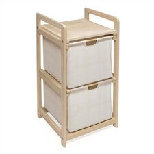 2 Drawer Hamper & Storage Unit