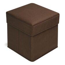 Folding Storage Cube Ottoman