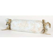 Central Park Toile Roll Bolster Pillow