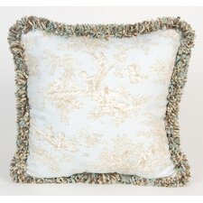 Central Park Toile Throw Pillow