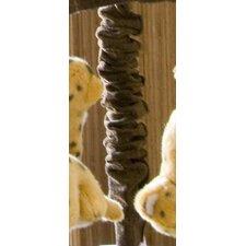 Tanzania Chocolate Velvet Mobile Arm Cover