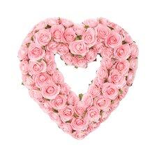 Rosebud Heart Wreath