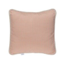 Maddie Beige/Pink Throw Pillow