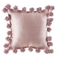 Maddie Pink Throw Pillow