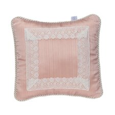 Maddie Pillow - Pink with Lace