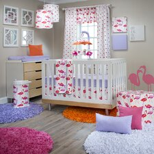 Lilly and Flo 3 Piece Crib Bedding Set