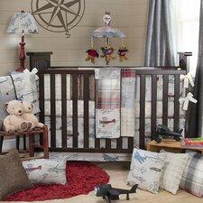 Fly-By 3 Piece Crib Bedding Set