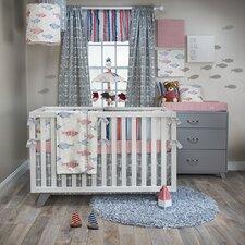 Fishtales 3 Piece Crib Bedding Set