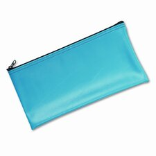 Leatherette Zippered Wallet, Leather-Like Vinyl, 11W X 6H (Set of 2)