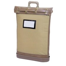 Canvas Security Courier Bag