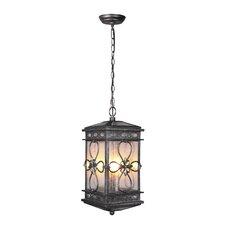 Edinburgh 3 Light Outdoor Hanging Lantern