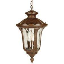 2 Light Outdoor Hanging Lantern