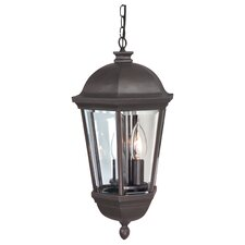 Britannia 3 Light Outdoor Hanging Lantern
