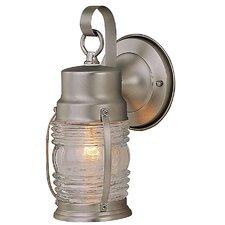 Nautical 1 Light Outdoor Wall Lantern