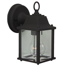 Cast Aluminum 1 Light Outdoor Sconce