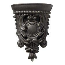 Artisan Carved Corbel Design Door Chime in Hand Painted Florentine Bronze