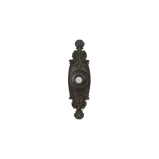 Designer Series Surface Mounted Traditional Push Button Door Bell in Antique Bronze