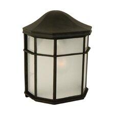 Cast Aluminum 1 Light Outdoor Flush Mount
