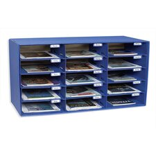 Mail Box - 15 Mail Slots Blue