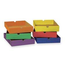 """Drawers,F/6-Shelf Organizer,12-1/2""""x10-1/4""""x2-1/4"""",Assorted"""