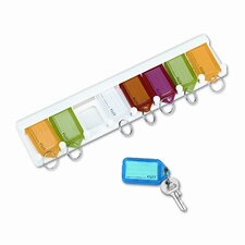 Securit Color-Coded Key Tag Rack