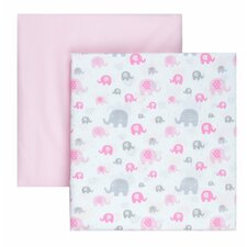 Microfiber Fitted Crib Sheets (Set of 2)