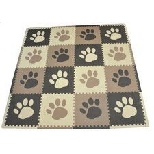 Pawprint Playmat Set