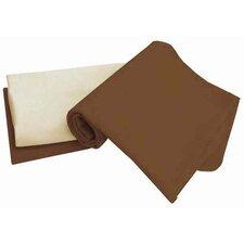 Arlington Tadpoles Organic Flannel Receiving 3 Piece Blanket Set