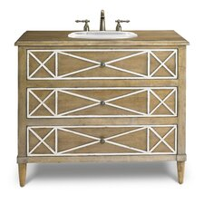 "Designer Series 41"" Genevieve Hall Chest Vanity Base"