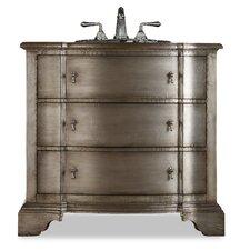 "Designer Series 38"" Single Buchanan Chest Bathroom Vanity Set"