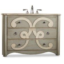 """Designer Series 48"""" Single Chamberlain Chest Bathroom Vanity Set"""
