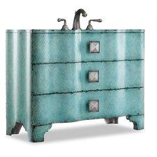 "Designer Series 44"" Single Chambers Chest Bathroom Vanity Set"