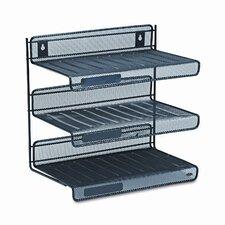 Rolodex Mesh 3-Tier Letter Size Desk Shelf