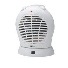 1,500 Watt Oscillating Fan Compact Electric Heater with Adjustable Thermostat