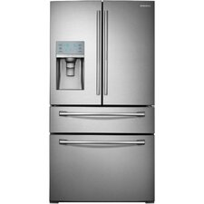 29.5 cu. ft. French Door Refrigerator in Stainless Steel with with Door-in-Door