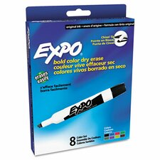 Expo Dry Erase Markers, 8/Set