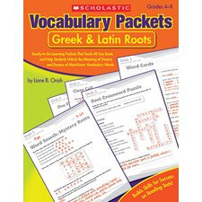 Vocabulary Packets Book