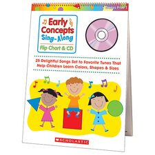 Early Concepts Singalong Flip CD