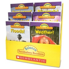 Science Vocabulary Readers: Wild Weather And Teaching Guide Book