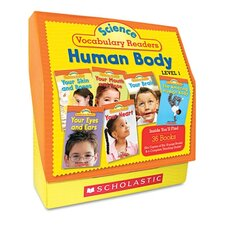 Science Vocabulary Readers: Human Body and Teaching Guide Book
