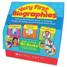 Very First Biographies Book