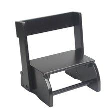 1-Step Solid Wood Flip Step Stool