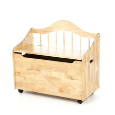 Deacon Bench/Toy Chest with Casters