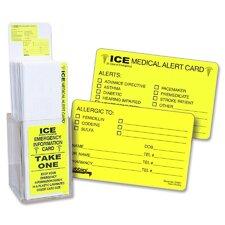 Emergency Information Card Display