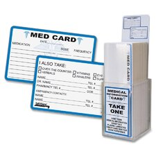 Medical Information Card Display