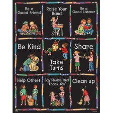 Sw Manners Chart (Set of 3)