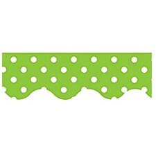 Lime Mini Polka Dots Classroom Border (Set of 3)
