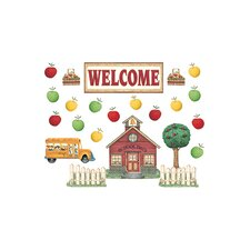 Dm Schoolhouse Welcome Bulletin Board Cut Out