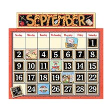 Classroom Bulletin Board Calendar